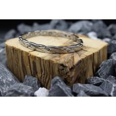 "Magnetic bracelet ""silver Snake"""