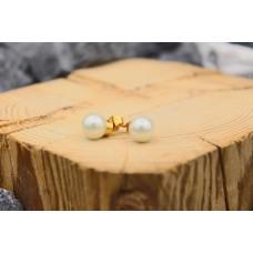 """Ohrstecker """"golden Pearl"""""""